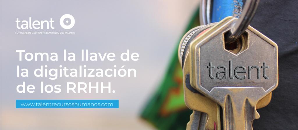Toma la llave de la digitalización de los RRHH